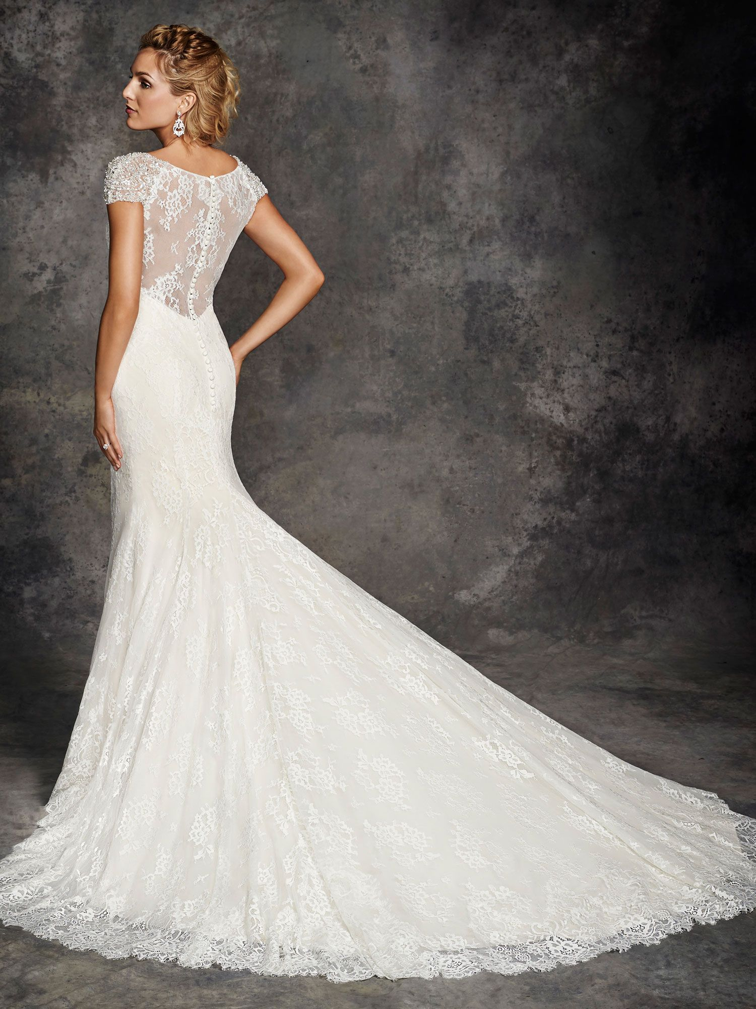 Style be253 bridal gowns wedding dresses ella for Private label wedding dress