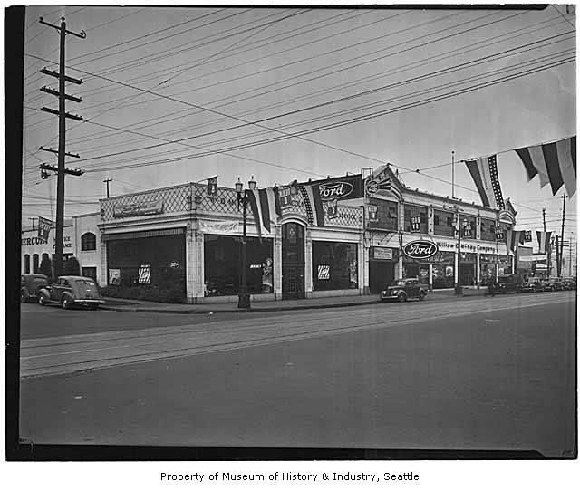 Seattle Dodge: Pre War 1930s Ford Dealership Buildings ..