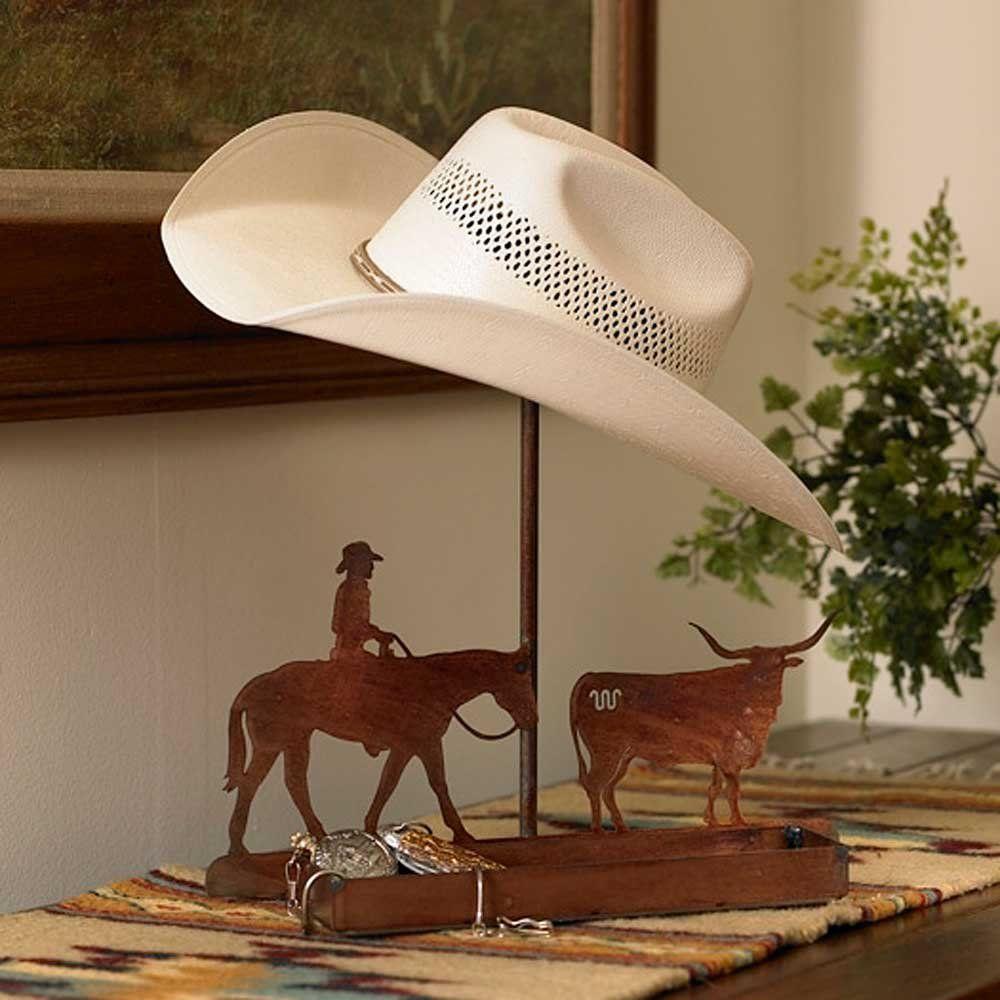 Cowboy Hat Stand King Ranch Cowboy Hat Rack Western Cowboy Hats Cowboy Hats