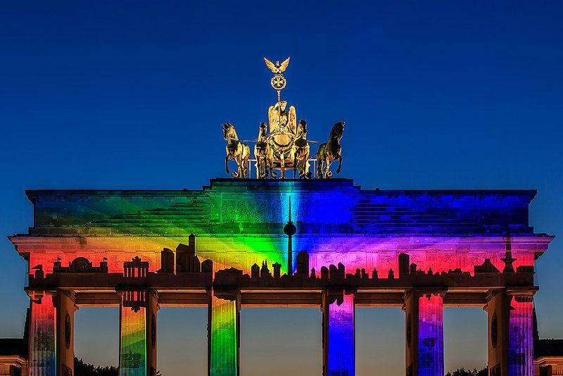 Liebesdeutschland Festival Lichter Berlin Berlin Skyline