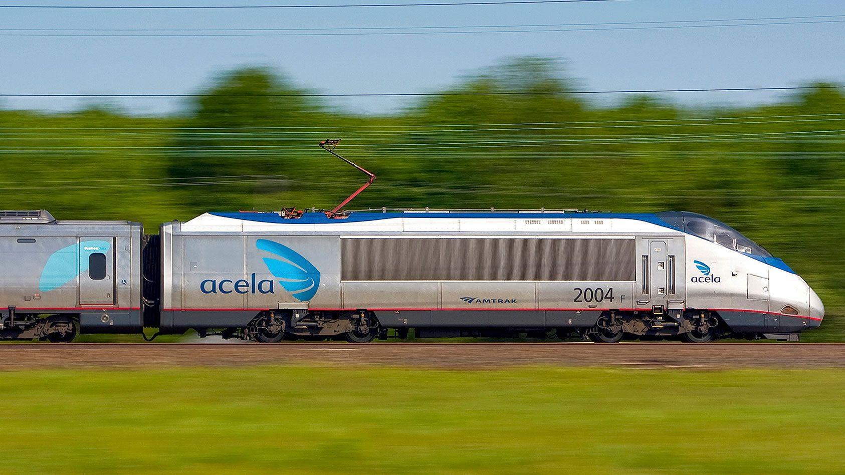 Acela Express Train Boston New Haven New York Philadelphia Baltimore Washington Dc Amtrak Acela Amtrak Train