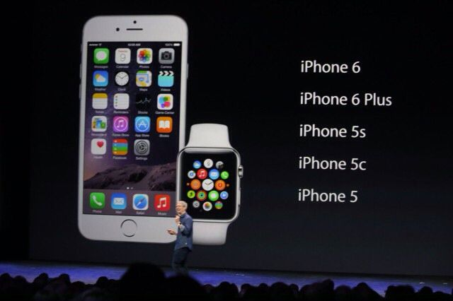 Made for each other... iPhone 6 & Apple Watch
