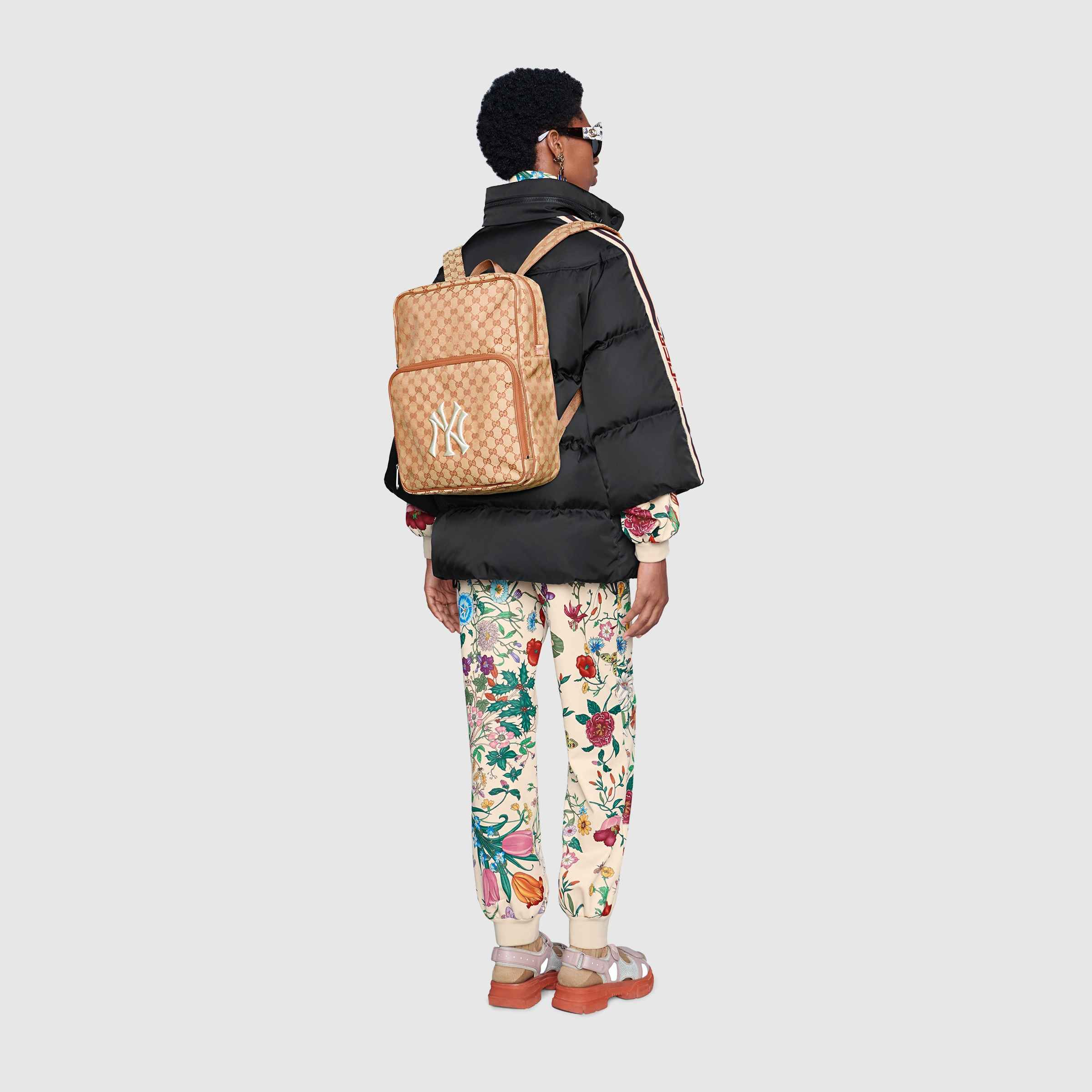 16d817fccda Shop the Medium backpack with NY Yankees™ patch by Gucci. Inspired by the  Creative