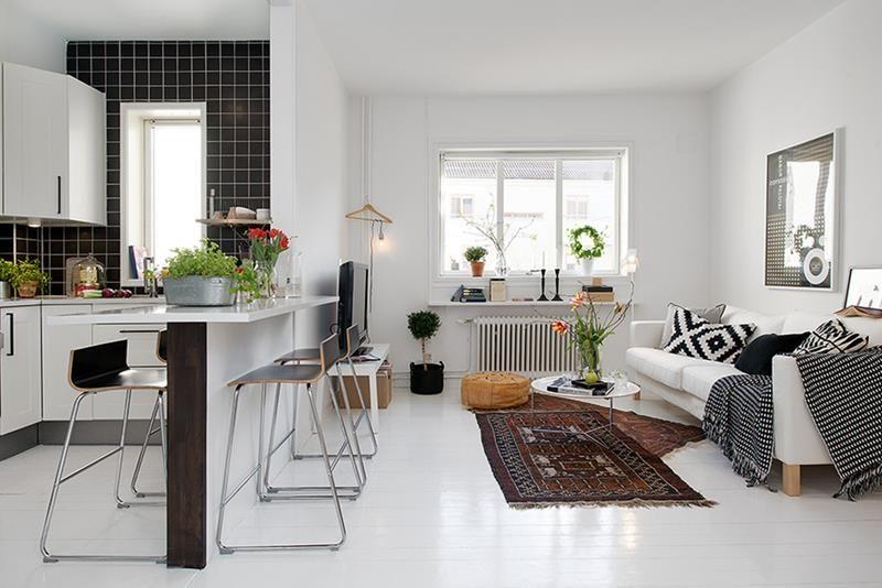 Ideas para decorar y organizar un apartamento peque o el for Como organizar un apartamento muy pequeno