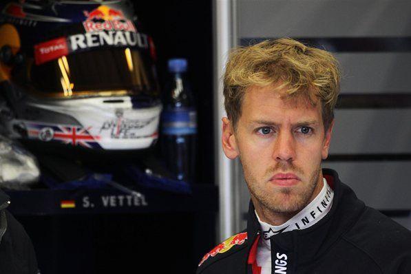 Sebastian Vettel (GER) Red Bull Racing.  Formula One World Championship, Rd12, Belgian Grand Prix, Practice, Spa-Francorchamps, Belgium, Friday, 31 August 2012