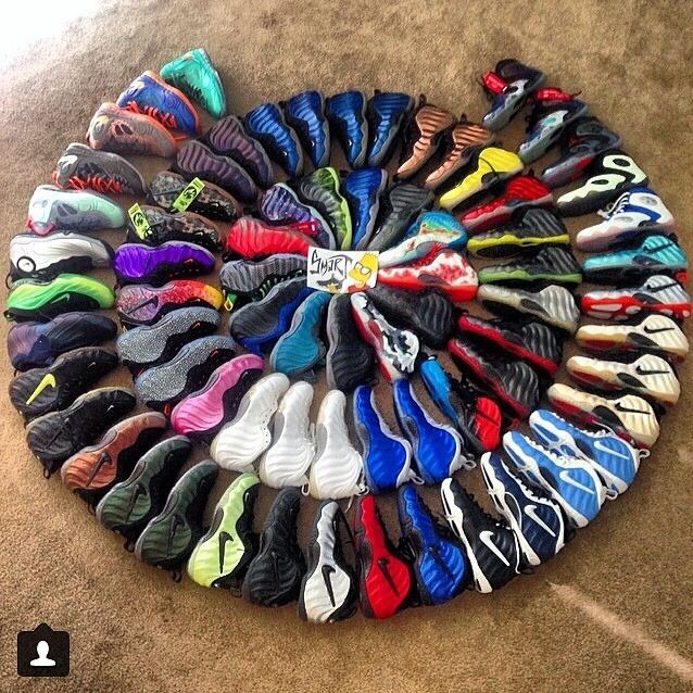 c6c529802aa7d My dream collection!!!  foamposites  foamsofmanycolors