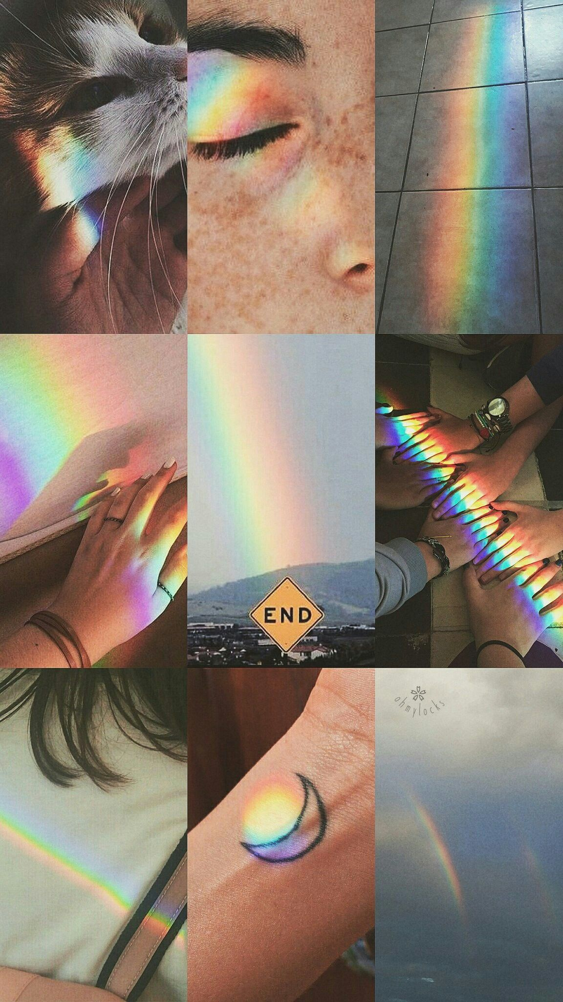 Pin By Aurora Kaunang On Wallpapers Aesthetic Collage Iphone Wallpaper Tumblr Aesthetic Rainbow Wallpaper
