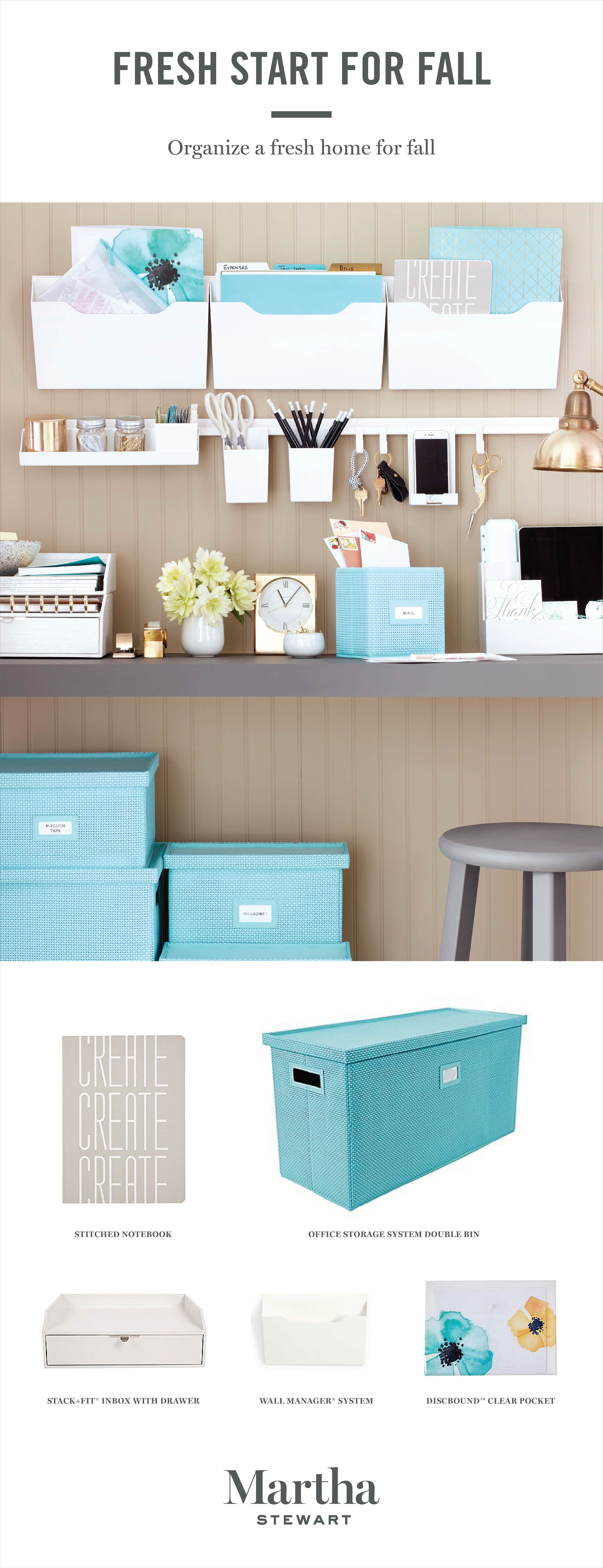 From Desktop to Wall: A Creative Way to Organize | Office organization at work, Office ...