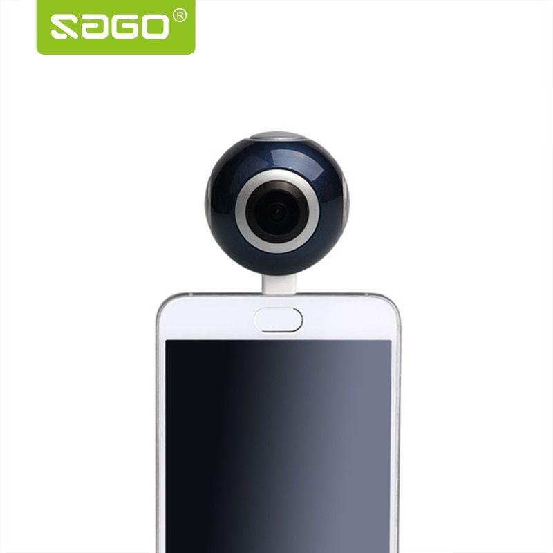 Sago 360 camera HD 360 Panoramic Camera VR Camera 210 Degree
