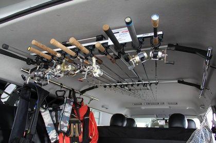 ロッドホルダー ロッドラック ロッド 釣竿 収納 200系ハイエース