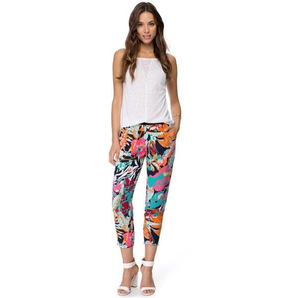 Sass Tropo Pants ($20) ❤ liked on Polyvore
