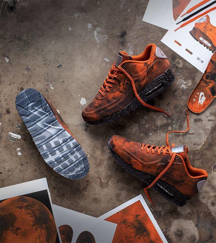 Nike air max, Air max 90, Mars landing