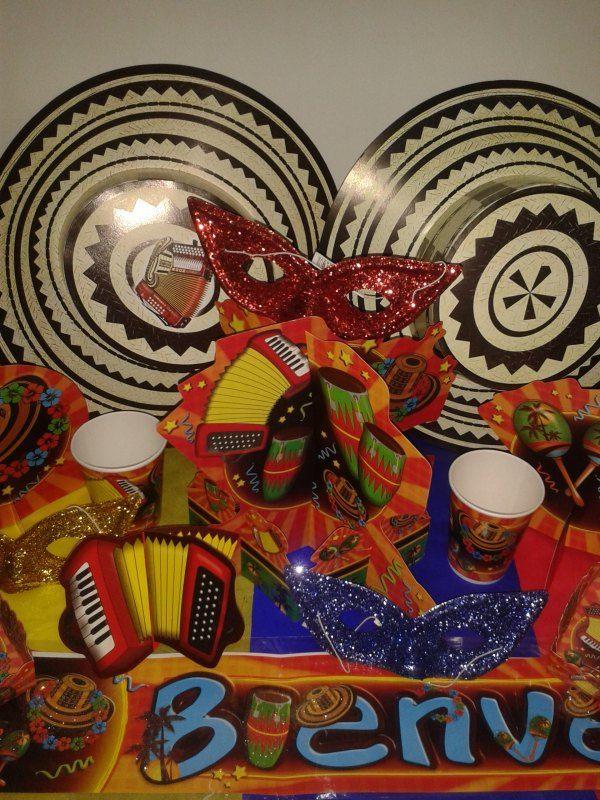 Fiesta Tem U00e1tica Colombiana Decoraci U00f3n Carnaval Fiesta