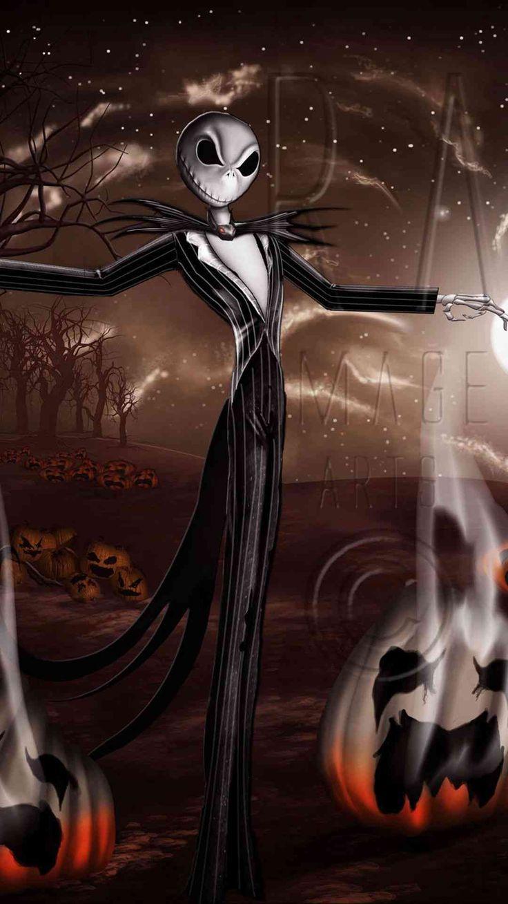 Crazy Jack Skellington Pumpkin 2014 Halloween iPhone 6