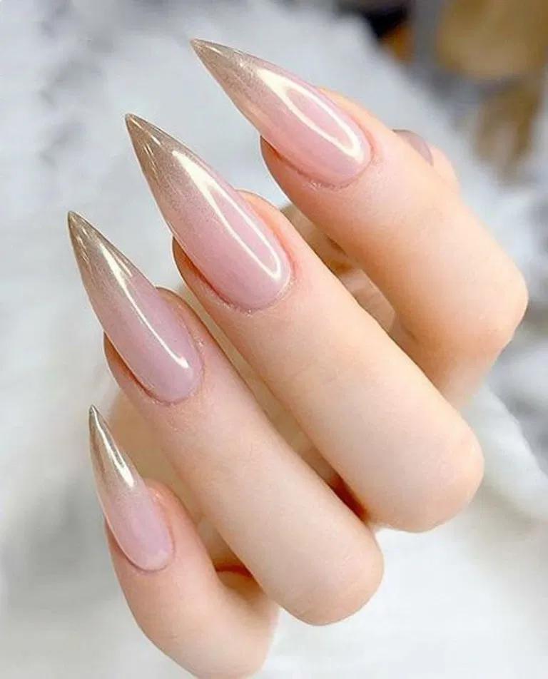 27 outstanding bridal nails art designs ideas 17 * remajacantik