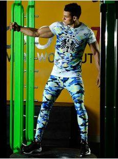 d75c7ea28447a leggins y Camiseta para hombre. Ropa Deportiva Masculina by CQ