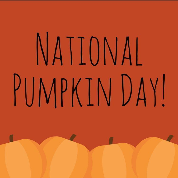 Happy National Pumpkin Day Speaking Of Pumpkins We Will Be Having Our 5th Annual Pumpkin Pie Giveaway On Monday November 20th As A Pumpkin Pumpkin Pie Day