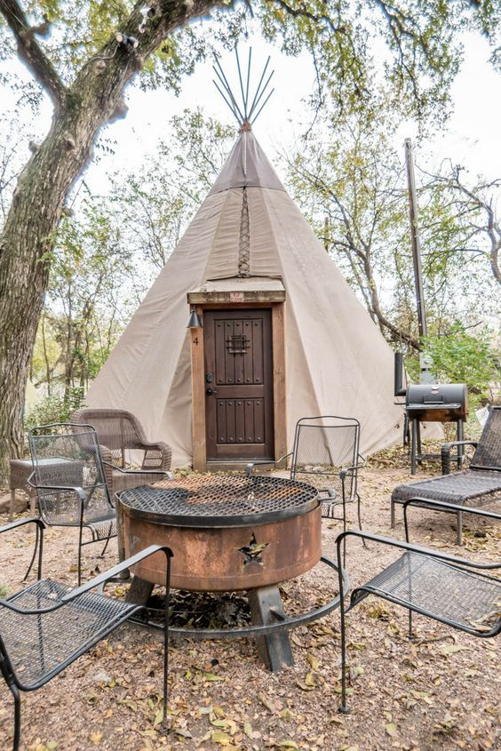 Traditional Tipis With Fully Modern Interiors Texas In