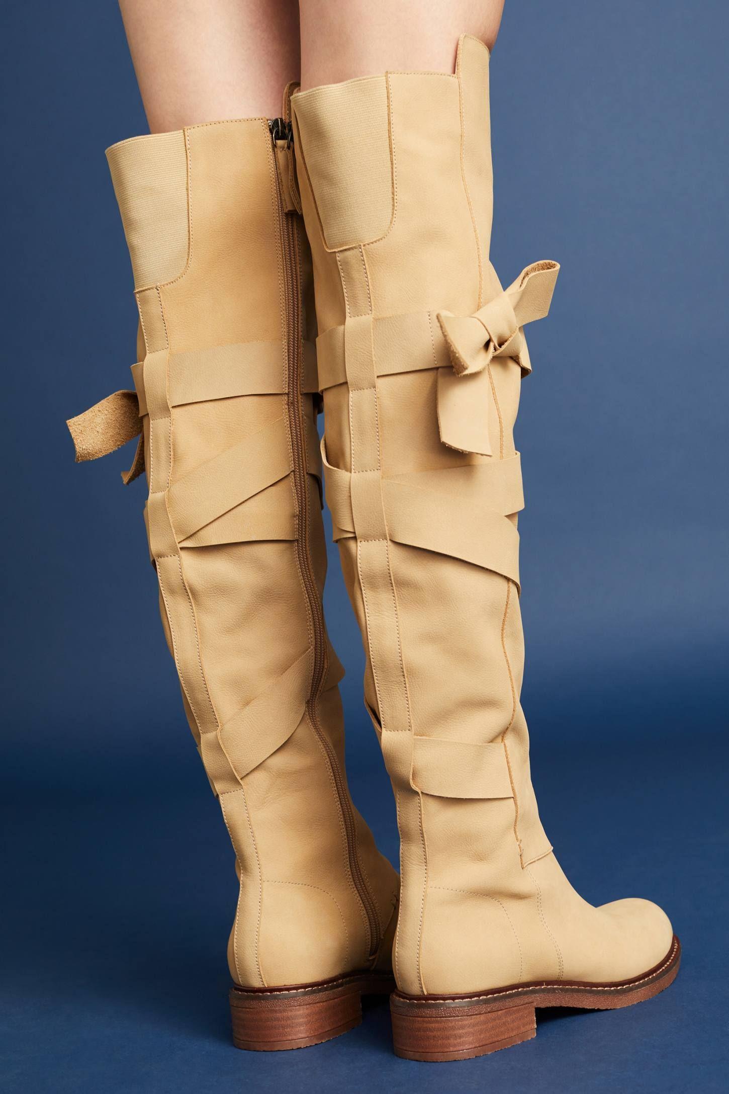 Kelsi Dagger Brooklyn Colby Leather Knee-Hight Boot 4ZV5U