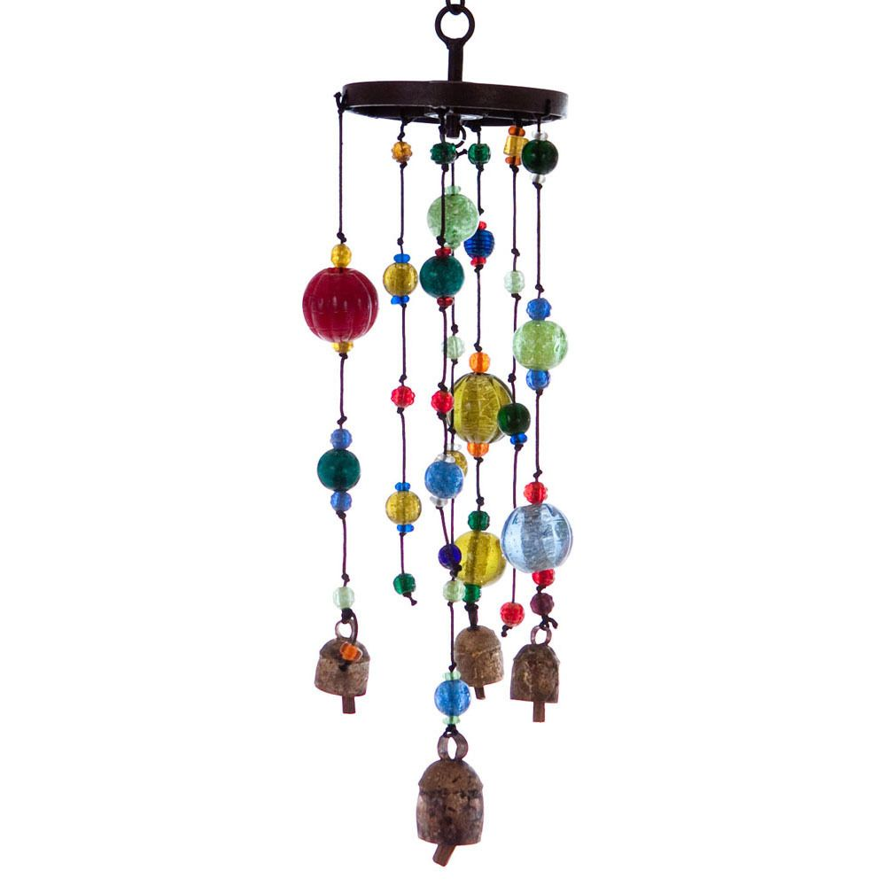 spheres of sounds wind chime india overstock com house