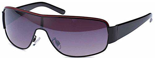 Designer Sonnenbrille Brille Damen & Herren Sport Rad Sunglasses Pilotenbrille 2592 (pilot Verspiegelt) 8cWWT2dm5