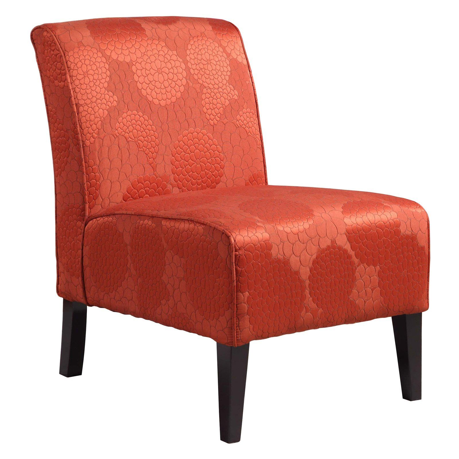 Lily Slipper Chair Matelesse Burnt Orange Chair Furniture