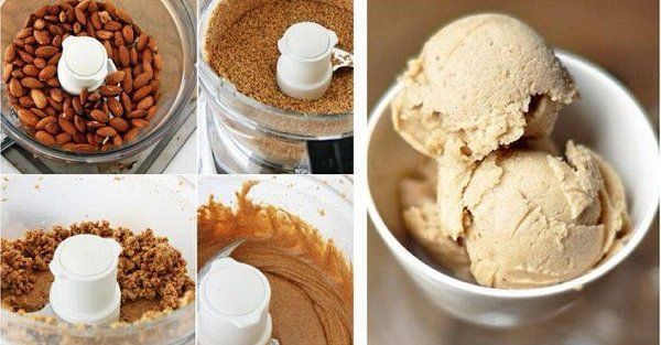 Learn how to make your own Raw Banana & Almond Butter Ice Cream today. Enjoy a dairy-free creamy dessert treat with the consistency of soft serve ice cream.