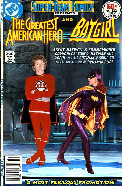 Super-Team Family: The Lost Issues!: The Greatest American Hero and Batgirl