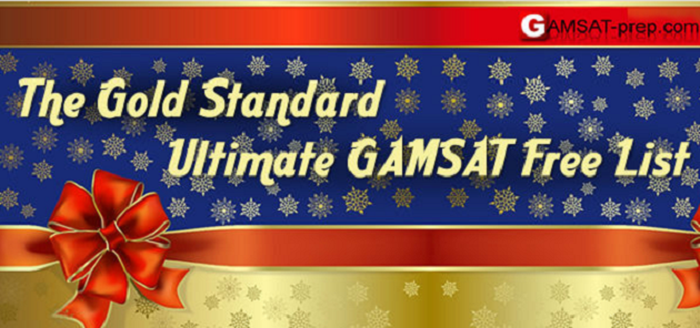 Gold Standard GAMSAT has lots of free resources throughout
