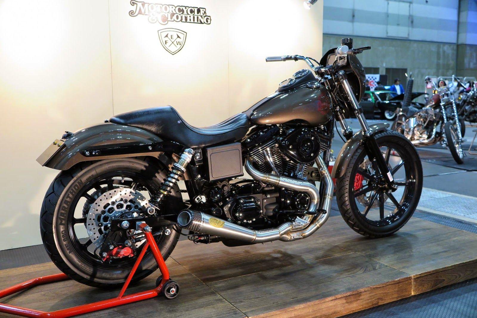 Tracker V � Custom Harley Davidson Dyna: Harley-Davidson FXDX Dyna Super Sport