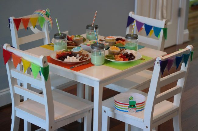 St. Patrick's Day party by Janie using Lauren McKinsey printables