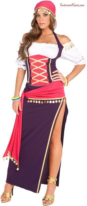 a6a39a28ea8a9 Gypsy Maiden Adult Costume Disfraz Gitana
