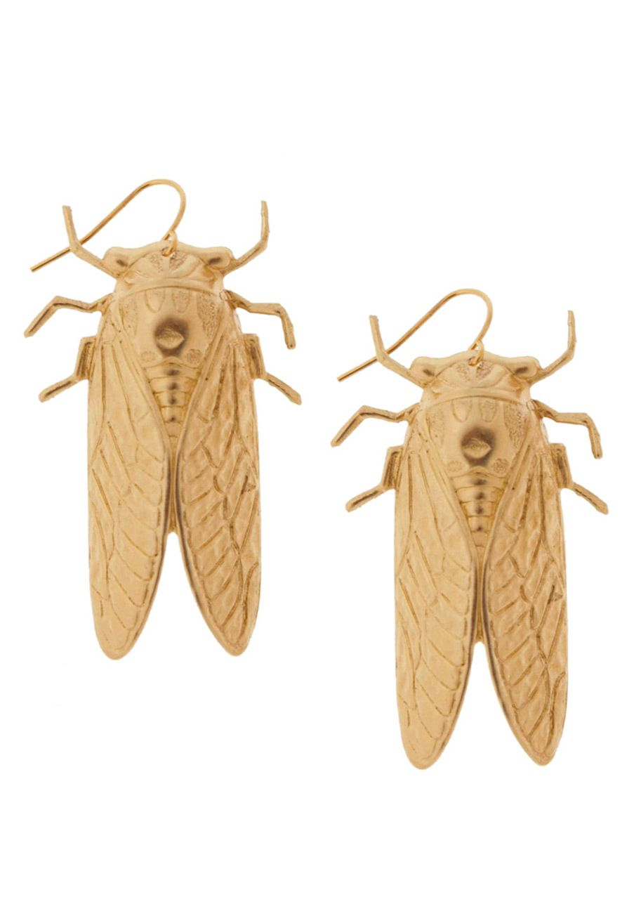 Magicicada Earrings. At ModCloth by Erica Weiner. $30