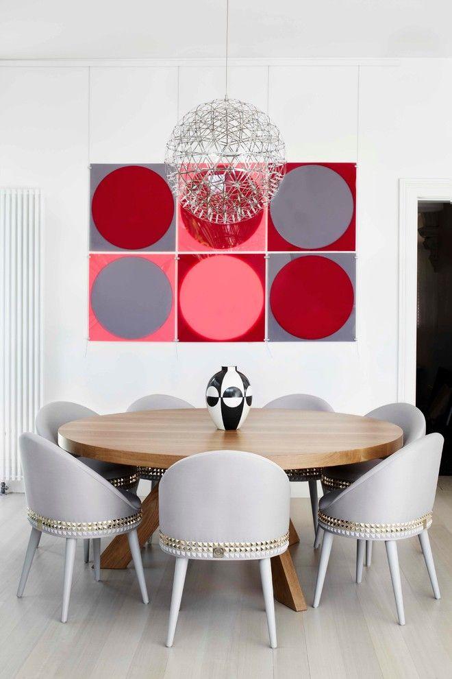 modern formal dining room set light coloured