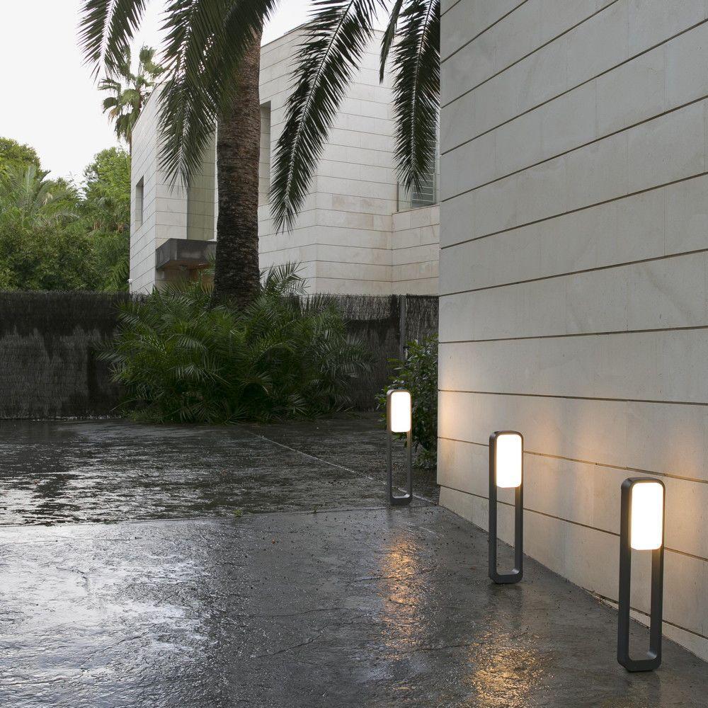 Led Wegeleuchte Sticker Grau Weiss Ip55 Aussenbeleuchtung Led Und Aussenleuchten
