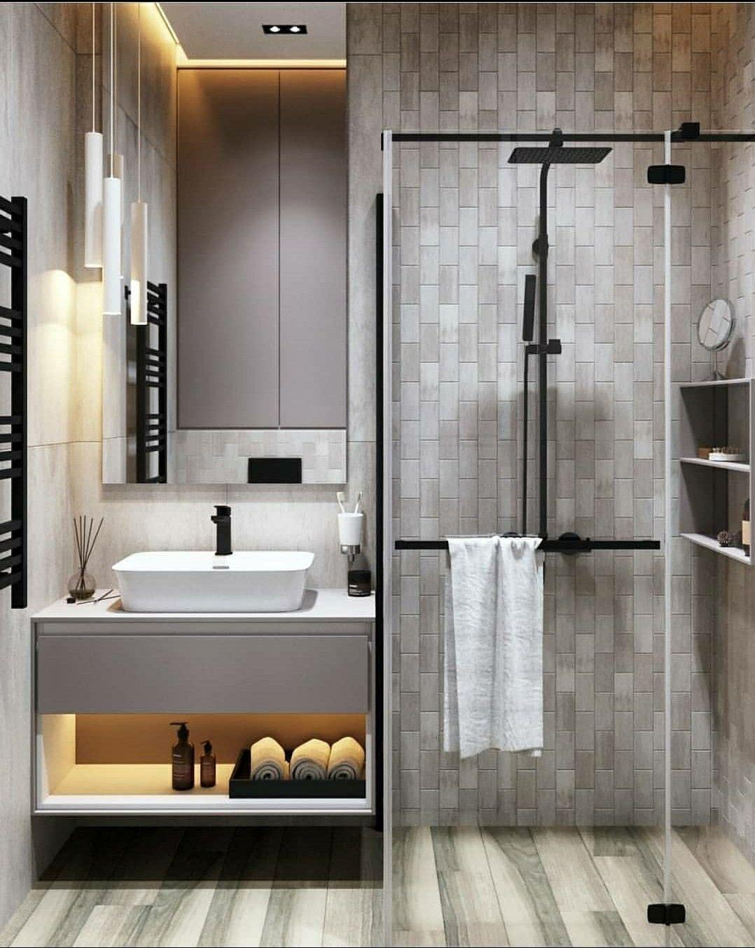 Unique Lighting Pattern For Bathroom Em 2020 Casas Residencia Decoracao