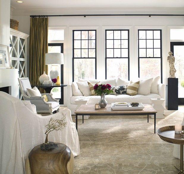 Living Room Patti Borrelli Living Room Windows House Beautiful Living Rooms Living Room Designs