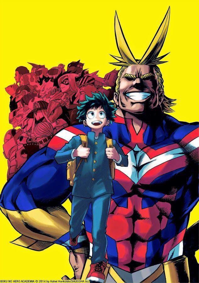 My Hero Academia Manga Series Licensed By Viz Media Keymochi