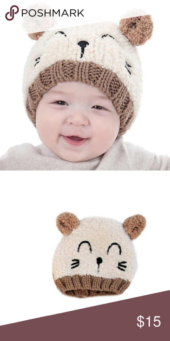 a467bf5801c ... Baby Bear Chenille Beanie Hat 1-3 Years Super Soft and stretchy perfect  to keep baby s head warm while looking unbelievably cute! Hat circumference  15