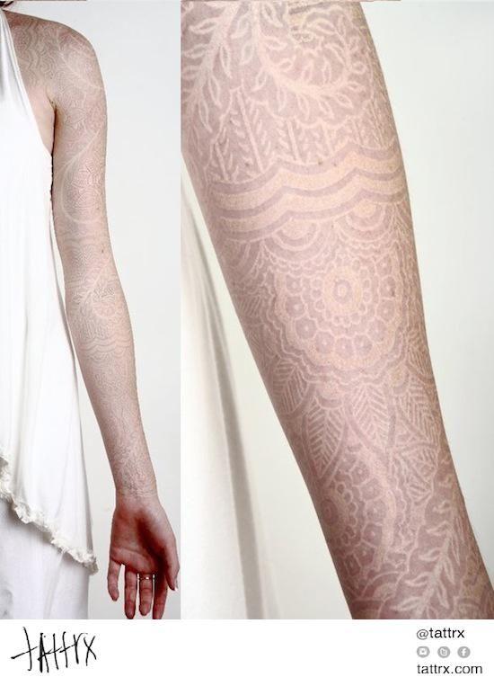 White Ink Henna: Watson Atkinson - White Ink