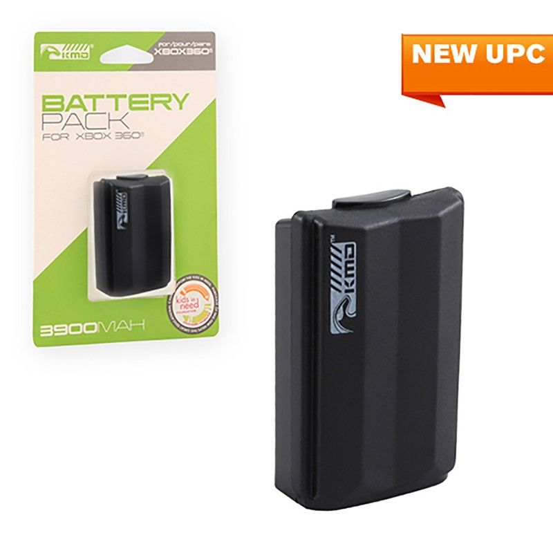Xbox 360 Rechargeable Battery Pack In Black Battery Pack Rechargeable Batteries Gaming Accessories