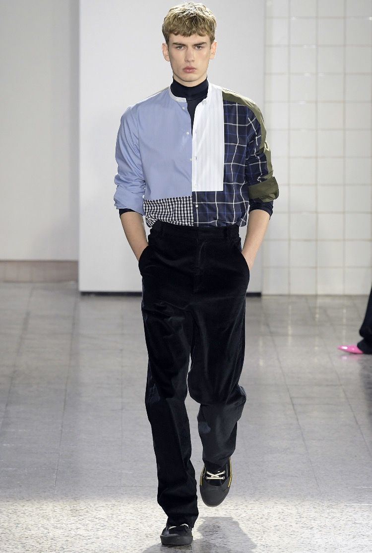 Cédric charlier fall menswear casual and rugged looks for