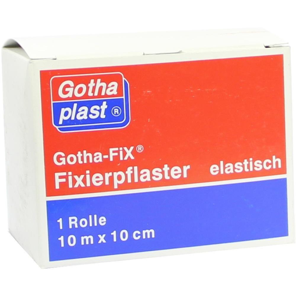 GOTHA FIX 10mx10cm elastisch:   Packungsinhalt: 1 St Pflaster PZN: 06887211 Hersteller: Gothaplast GmbH Preis: 18,80 EUR inkl. 19 % MwSt.…