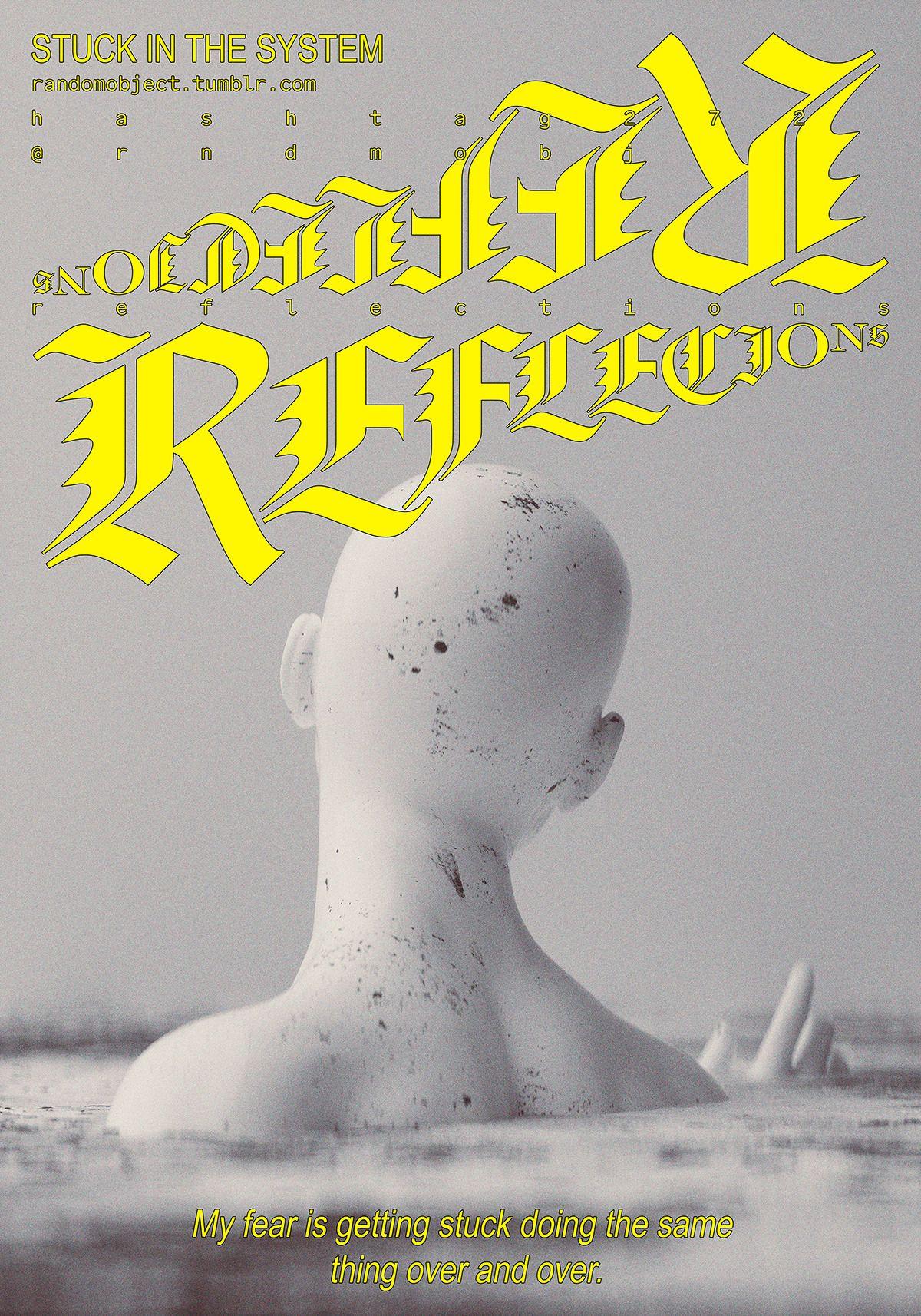 272random Rndmobj Graphic Design Type Posters Graphic