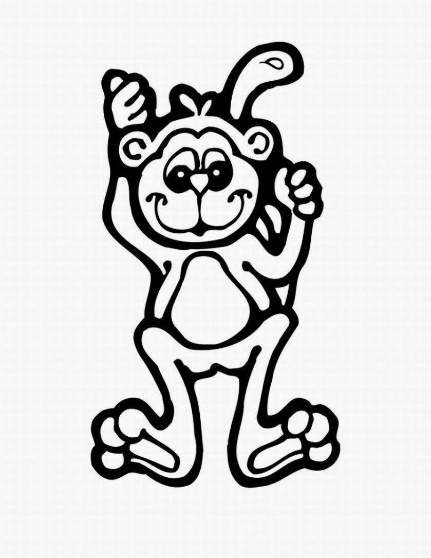 Monkey Colour Drawing HD Wallpaper | PROYECTO LOS MONOS Y SU FAMILIA ...