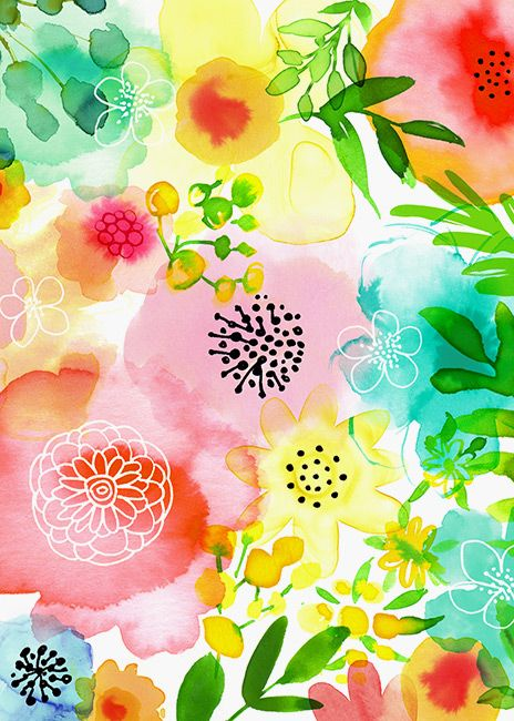 Magrikie Illustration Florals X2f Plants X2f Spring