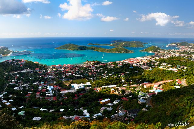 St Thomas Virgin Islands From Beacon Point Places To Travel