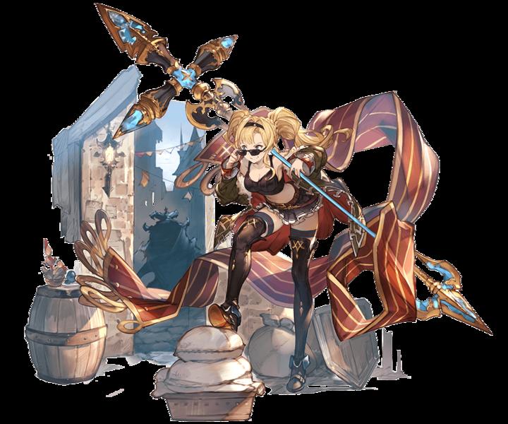 Zeta Dark Granblue Fantasy Wiki Character Art Fantasy Art Character Design