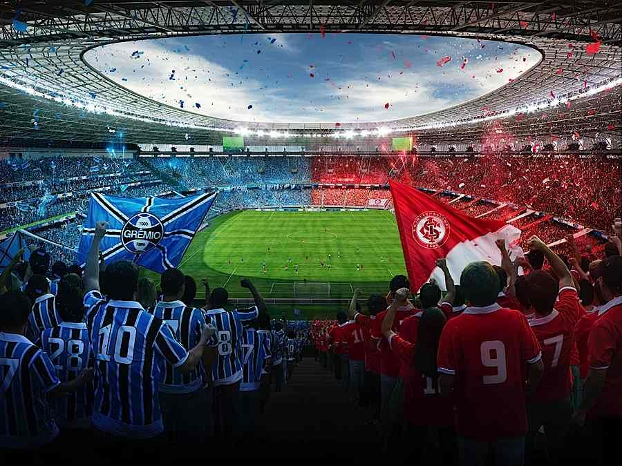 Case Study Inter X Gremio Stadium Futebol E Casal