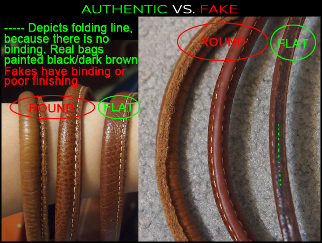 "a39f5f09feaf How To Spot A Fake Longchamp ""Le Pliage"" tote  The ..."